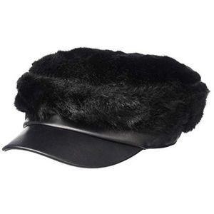 Bcbgmaxazria Faux Fur Military Cap